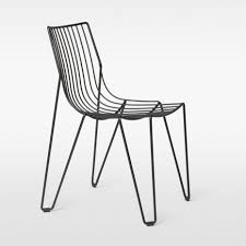 Metal Garden Chair Contemporary Garden Chair Stackable Metal Tio Massproductions