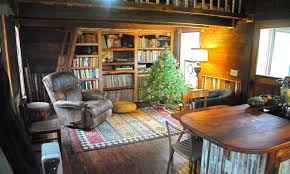 plans for building a bookcase inside tiny homes and cottages