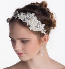 lace headband lace headband bridal headband flower headband wedding headband
