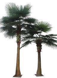 8m fiberglass trunk artificial washington palm tree dongyi
