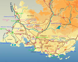 marseilles map guided shore trip from marseilles provence by car or minibus