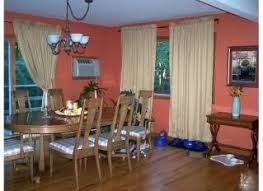 what color goes with orange walls if you have orange walls what color curtains do you have pip