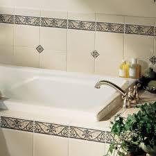 bathroom borders ideas decorative bathroom tile borders room design ideas