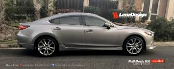 mazda 4 by 4 mazda 6 gj atenza tuning u0026 body kit lenzdesign performance 2013
