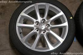 lexus wheels 18 2014 toyota avalon oem 18 u0026 034 wheels tires solara camry lexus