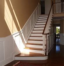 Quarter Turn Stairs Design Quarter Turn Staircase Chair Rail Google Search Ideas For The