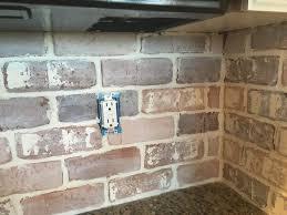 brick tile backsplash kitchen kitchen backsplash brick tile backsplash kitchen exposed brick
