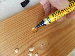 filling those holes minwax