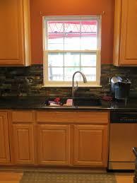 Slate Backsplash Kitchen Kitchen Kitchenaic Designs Pvblik Com Decor Slate Backsplash
