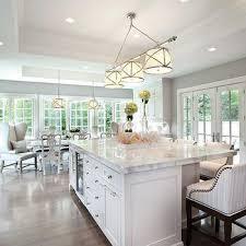 grosvenor triple pendant light transitional kitchen