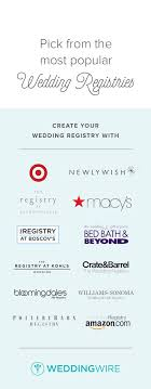 best wedding registrys best stores to set up a wedding registry programming wedding