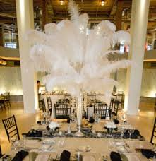 ostrich feather centerpiece feather centerpieces tips for your bat mitzvah wedding sweet
