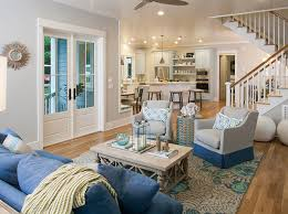 southern style living rooms southern living inspired home at bald head island north carolina