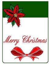 wish someone merry christmas free printable christmas greeting