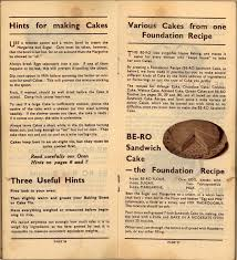 be ro home recipes scones cakes pastry puddings a 1923