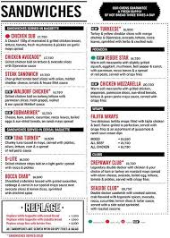 restaurants with light menus crepaway restaurants