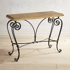 iron scroll console table pier 1 imports