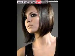 Frisuren Kurze Glatte Haare by Kurze Frisuren Für Dicke Glatte Haare