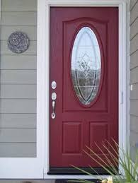 Red Door Home Decor Front Door Color What A Bright And Cheery First Appearance