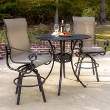 High Back Sling Patio Chairs by Villa Outdoor Patio Furniture Dining Sets U0026 Pieces Outdoor