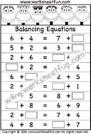 algebraic reasoning u2013 pan balance problems u2013 10 worksheets
