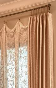 Different Drapery Pleat Styles Contrast Leading Edge And Trimmed Pleats Fabric Pinterest