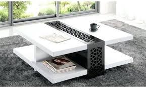 table basse carre blanche table basse carrace blanc laquac design