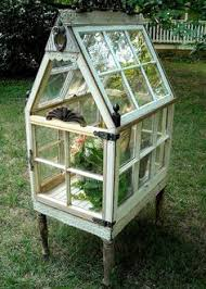 Small Backyard Greenhouse by Keep An Eye Out This Was Able To Repurpose Old Windows She