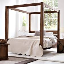 Black Four Poster Bed Frame Black Four Poster Bed Ohfudge Info