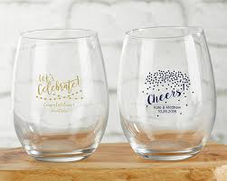 wine glass party favor stemless wine glass party favors it s party time lets celebrate