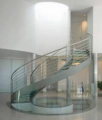 glass circular stairs u2014 railing stairs and kitchen design design