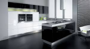 kitchen luxury black kitchen decor with u shape modern kitchen