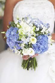 hydrangea wedding bouquet blue hydrangea wedding bouquet