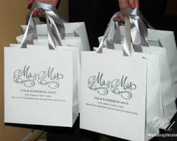 welcome bags for wedding guests wedding welcome bags etsy