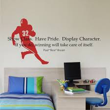 character quote sports show class wall quotes decal wallquotes com