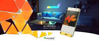 nanoleaf revolutionizes scandinavain homes with smart lighting