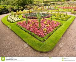ornamental flower bed royalty free stock photography image 26159747