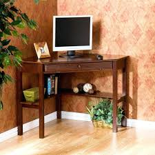 Black Corner Desk With Drawers Desk Amazing Wood Corner Desk With Drawers 25 Cool Oak Corner