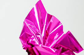 mylar tissue paper hot pink mylar metallic pink mylar 10 sheets neon pink mylar