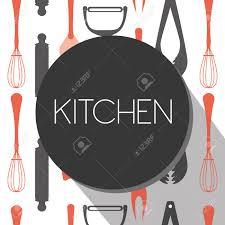 kitchen tool design vector illustration eps10 graphic royalty