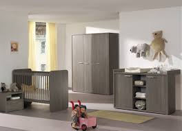 commode chambre garcon commode à langer contemporaine coloris bouleau gris luca commode