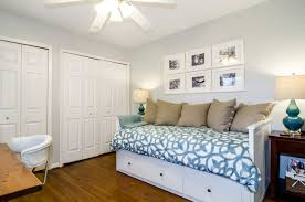 Spare Bedroom by Small Guest Bedroom Office Ideas House Design Ideas