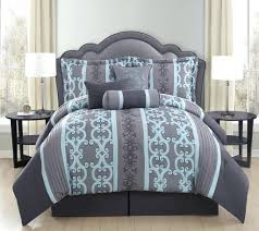 Aqua And White Comforter Gray Comforter Set Queen U2013 Rentacarin Us
