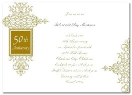 50 wedding anniversary 50 wedding anniversary invitations wording golden anniversary