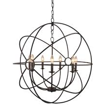 Cage Pendant Light Chandelier Glass Chandelier Rustic Bar Lights Cage Pendant Light