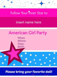 american birthday invitations american birthday