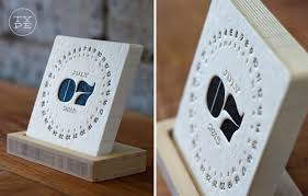 Small Desk Calendar 2015 26 Modern Calendars For 2015 Design Milk