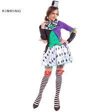 baroque halloween costumes aliexpress com buy kimring mad hatter halloween costume in