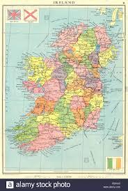 Northern Ireland Map Ireland Irish Free State Ulster Northern Ireland Counties 1938