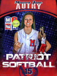 high school senior banners personalize your softball banner with photos from your players s